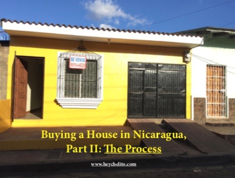 buying a home, buying a house, Nicaragua, Léon, colonial , real estate, property
