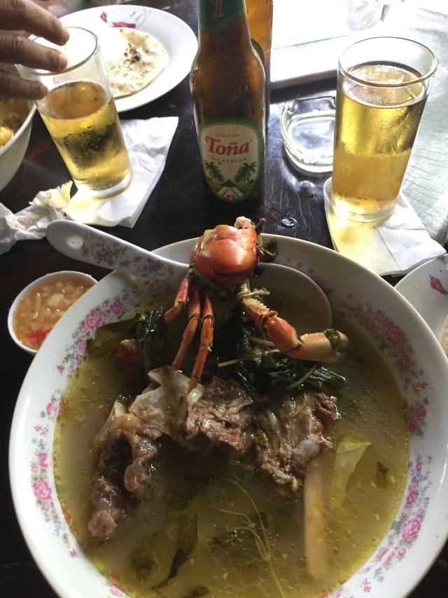 soup, Leon, Nicaragua