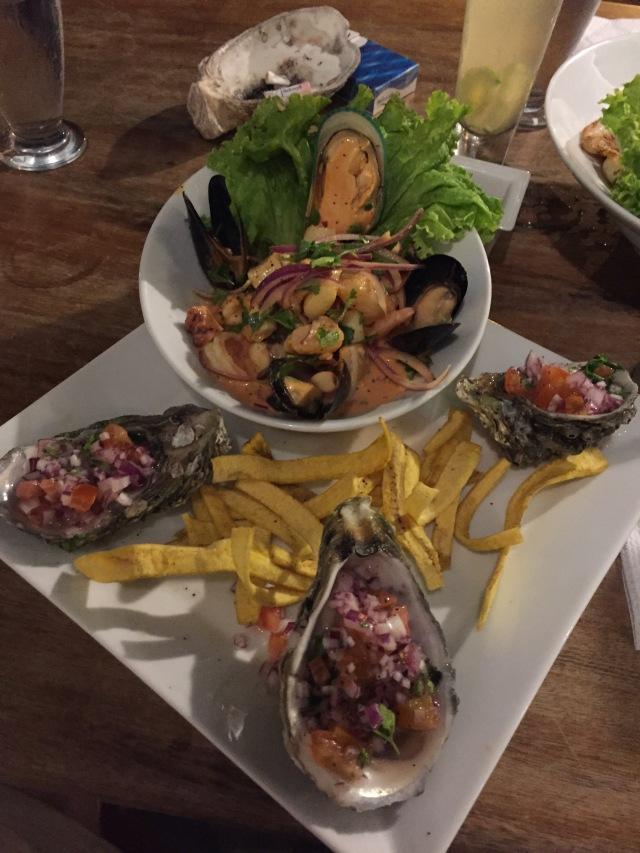 ceviche, dinner, restaurant, Leon, Nicaragua