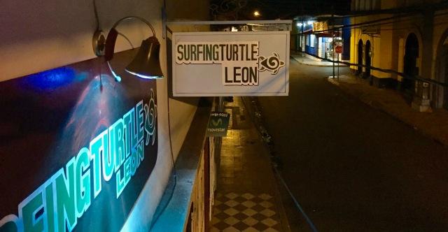 hostal, León, Nicaragua, Surfing Turtle