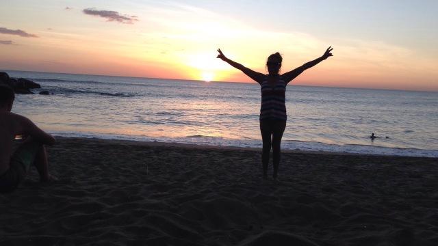 sunset, Leon, Nicaragua, beach, travel