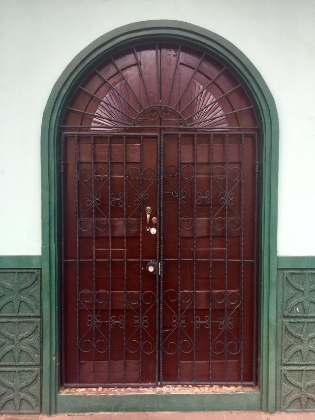 front door, León, Nicaragua