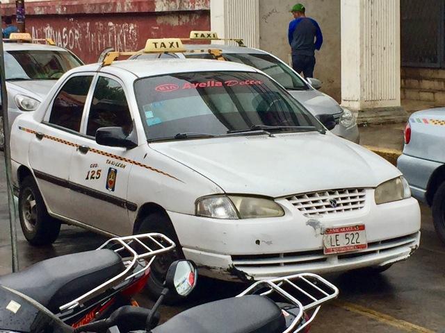 Taxi, Leon, Nicaragua, safety, tips, Managua