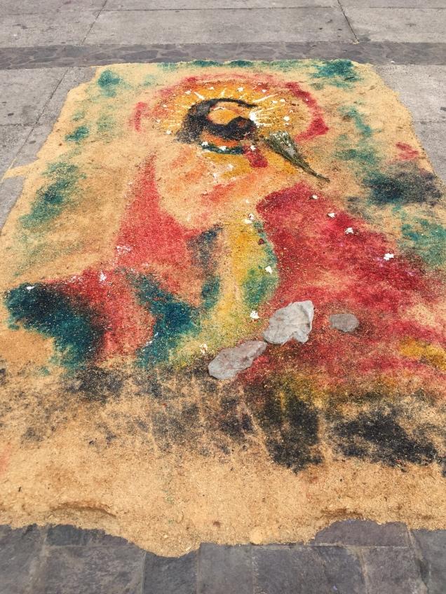 Leon, nicaragua, sawdust, street art