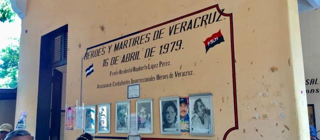 Museum of the Revolution, Leon, Nicaragua, Ortega, FSNL, Sandino, Sandinista, museum, earthquake