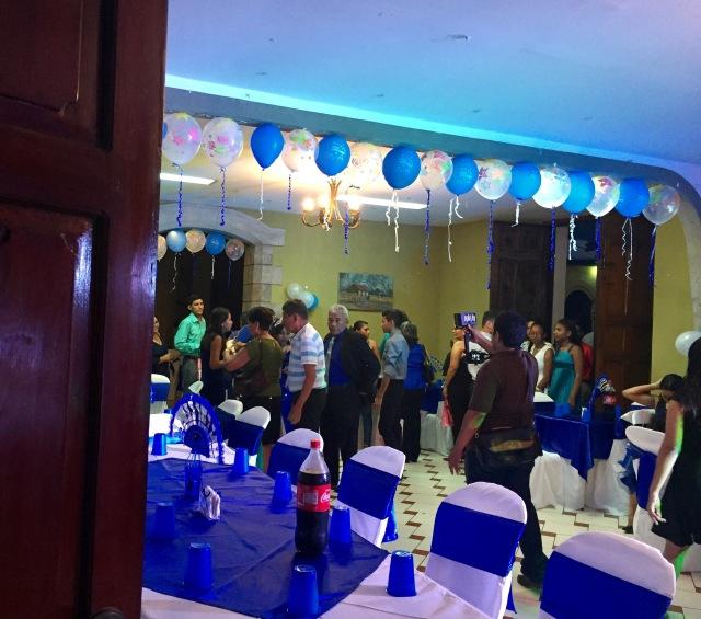 Birthday, Quinceanera, Leon, Nicaragua, expat