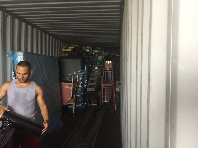 international move, moving,Miami, Nicaragua, cargo, customs, immigration
