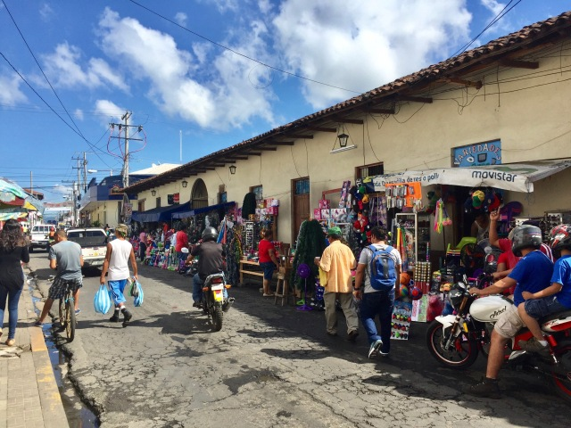 Leon, Nicaragua, street vendors